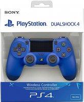 Беспроводной джойстик DualShock 4 Wave Blue «Синий цвет» версия 2