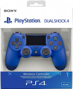 Геймпад DualShock 4 Wave Blue «Синий цвет»
