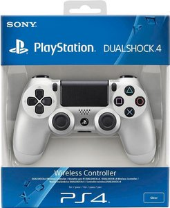 Джойстик DualShock 4 «Серебристый цвет»