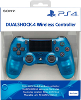 Джойстик DualShock 4 New Ver. 2 Crystal Blue