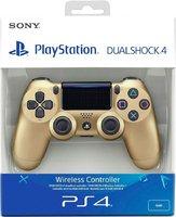 Беспроводной джойстик DualShock 4 Gold «Золотой цвет» версия 2