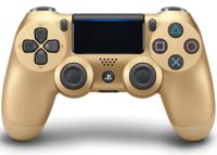 Беспроводной геймпад DualShock 4 Gold «Золотой цвет» версия 2