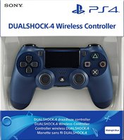 Беспроводной джойстик DualShock 4 Jet Midnight Blue «Тёмно-синий» версия 2