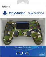 Беспроводной оригинальный джойстик DualShock 4 «Зеленый Камуфляж» Версия 2