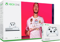 Игровая приставка Microsoft Xbox One S 1TB + с двумя геймпадами + FIFA20