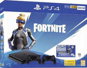 Игровая приставка Sony PlayStation 4 Slim 500GB + 2-ой джойстик Dualshock 4