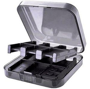 Кейс «GameWill» для хранения 24 игровых карт и 2 карт памяти MicroSD