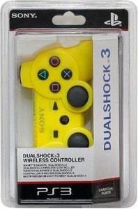Беспроводной контроллер DUALSHOCK 3 Жёлтый