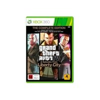 Grand Theft Auto IV - The Complete Edition [Xbox 360]