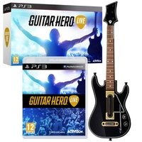 Гитара для PS3 «Guitar Hero Live Bundle» [Гитара + игра] Английская версия