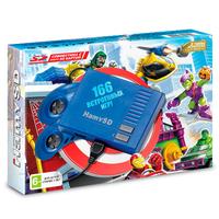 Игровая приставка Hamy SD + 166 встроенных игр «Голубой цвет»