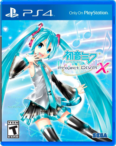 Hatsune Miku: Project Diva X [PS4]