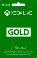 Карта подписки XBOX Live 3 мес.