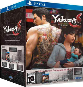 Yakuza 6: The Song of Life. After Hours Premium Edition