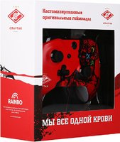Геймпад RAINBO Xbox One Wireless Controller ФК Спартак «Гладиатор»