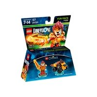 LEGO Dimensions Fun Pack - Lego Legend of Chima (Laval, Mighty Lion Rider)