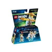 LEGO Dimensions Fun Pack - Lego Ninjago: Masters of Spinjitzu (Sensei Wu, Flying White Dragon)