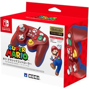 Проводной контроллер HORI Battle Pad «Mario»