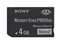 Карта Памяти Sony Memory Stick Pro Duo 4GB «без упаковки»