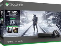 Игровая приставка Microsoft Xbox One X 1TB + Метро: Исход