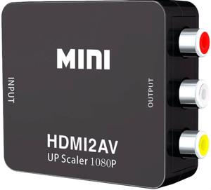 Переходник HDMI2AV UP Scaler 1080P «HD Video Converter»