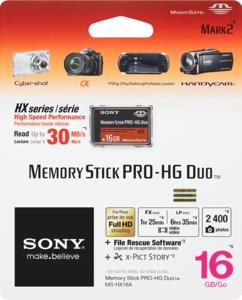 Карта памяти Sony Memory Stick PRO Duo 16Gb «Original»