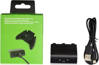 Аккумуляторная батарея DOBE «Battery Pack» 800mAh + зарядный кабель для Xbox One модель: TYX-531 Черный цвет