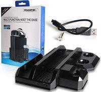 "Подставка вертикальная DOBE «Multi-Functional Host The Base» для PS4 ""FAT""/ PS4 Slim/PS4 Pro Модель TP4-888"