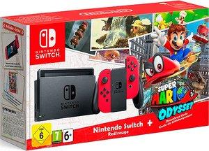 Игровая приставка Nintendo Switch + Super Mario Odyssey