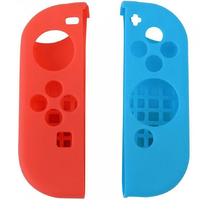 Силиконовые чехлы для 2-х контроллеров Joy-Con Неоновый-синий/Неоновый красный Цвет