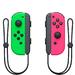 Набор из двух беспроводных контроллеров Joy-Con Сontrollers неоновый зеленый/неоновый розовый