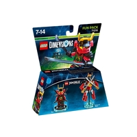 LEGO Dimensions Fun Pack - Lego Ninjago: Masters of Spinjitzu (Nya, Samurai Mech)