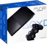 PlayStation 2 Slim «Черный Цвет» Модель: SCPH-90004