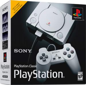 Игровая приставка Sony PlayStation Classic + 32 игры