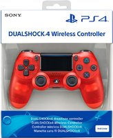 Джойстик DualShock 4 New Ver. 2 Crystal Red