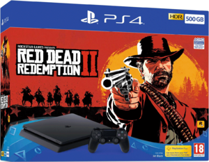 Игровая приставка Sony PlayStation 4 Slim 500GB + Red Dead Redemption 2