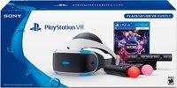 Шлем виртуальной реальности PlayStation VR  +  Камера PlayStation + PS Move (2 шт) + Игра VR Worlds