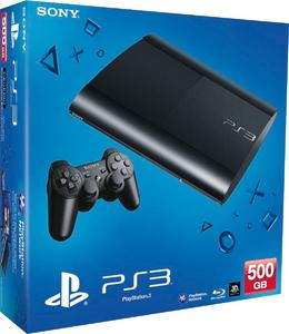 Игровая приставка Sony PlayStation 3 Super Slim 500Gb