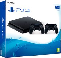 PlayStation 4 Slim 1TB + 2 Джойстика Dualshock 4