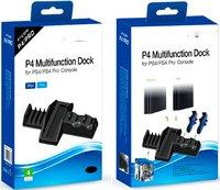 "Подставка вертикальная DOBE «P4 Multi-Functional Dock» для PS4 ""FAT""/PS4 Pro Модель TP4-837"