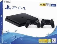 Игровая приставка Sony PlayStation 4 Slim 500GB + 2-ой джойстик DualShock