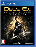 Deus EX: Mankind Divided - Day 1 Edition [PS4]