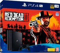 Игровая приставка Sony PlayStation 4 Pro 1TB + Red Dead Redemption 2