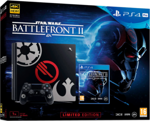 PlayStation 4 Pro 1Tb + Star Wars Battlefront 2 Limited Edition
