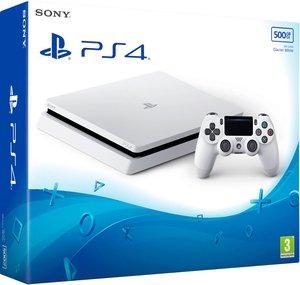 Игровая приставка Sony PlayStation 4 Slim 500Gb «Белый Цвет»
