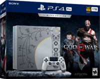 PlayStation 4 Pro 1TB «God Of War» Limited Edition