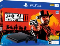 Игровая приставка Sony PlayStation 4 Slim 1TB + Red Dead Redemption 2