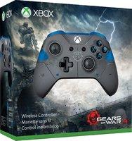 Беспроводной джойстик Xbox One Wireless Controller «Gears of War 4 JD Fenix» с 3,5-мм стерео-гнездом для гарнитуры и Bluetooth