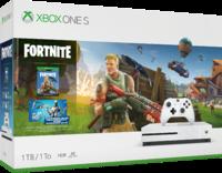 Игровая приставка Microsoft Xbox One S 1TB + игра Fortnite