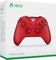 Беспроводной Геймпад Xbox One Wireless Controller «Красный Цвет» с 3,5-мм стерео-гнездом для гарнитуры и Bluetooth